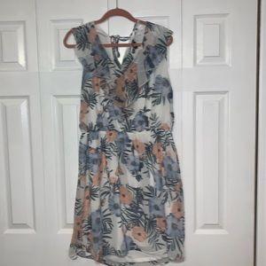 Chiffon sleeveless dress